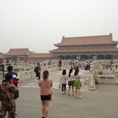 Photo taken at 故宫博物院 Forbidden City by Britt S. on 6/16/2013