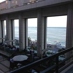 Photo taken at Hyatt Regency Nice Palais de la Mediterranee by Elena O. on 7/29/2013