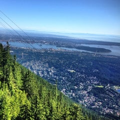 Photo taken at Grouse Mountain by Dina Z. on 7/1/2013