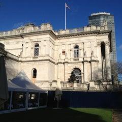 Photo taken at Tate Britain by Pete M. on 1/1/2013