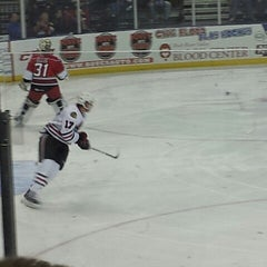 Photo taken at BMO Harris Bank Center by Mary D. on 10/21/2012