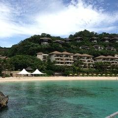 Photo taken at Shangri-La Boracay Resort and Spa by Natalia P. on 2/25/2013