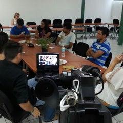 Photo taken at Facultad de Letras y Comunicación by Carlos C. on 8/25/2014
