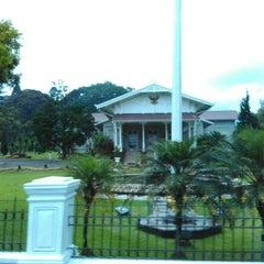 Photo taken at Istana Kepresidenan Cipanas by Dias P. on 11/21/2015