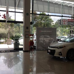 Photo taken at Toyota by Leito M. on 6/7/2014