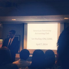 Photo taken at AU – Kogod School of Business by Ty L. on 4/7/2014
