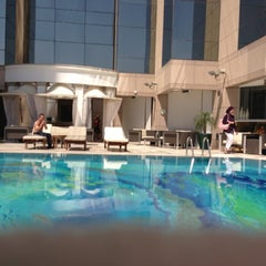 Photo taken at Fairmont Dubai by Marologyz on 3/15/2013