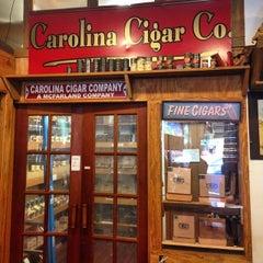 Photo taken at Carolina Cigar Company by Or C. on 8/17/2014