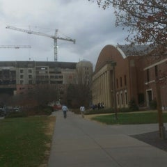 Photo taken at NU Coliseum by Joshua J. on 11/15/2012