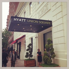 Photo taken at Hyatt Union Square New York by Karen M. on 5/20/2013