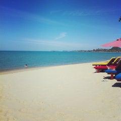 Photo taken at Maenamburi Resort by Pan S. on 10/3/2012
