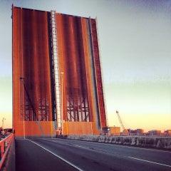 Photo taken at Casco Bay Bridge by Corey T. on 9/28/2013