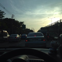 Photo taken at แยกประชานุกูล (Prachanukun Intersection) by iceseung on 5/24/2014