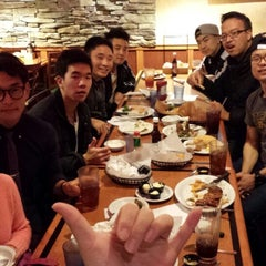 Photo taken at Sizzler by Samuel J. on 2/11/2014
