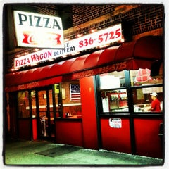 Photo taken at Pizza Wagon by Jeff Z. on 2/17/2013