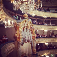 Photo taken at Мариинский театр / Mariinsky Theatre by Сергей К. on 10/10/2013