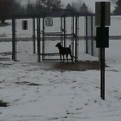 Photo taken at Robert A. Stuart Dog Park by Lori K. on 2/27/2013