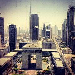 Photo taken at Emirates Towers أبراج الإمارات by Rawan G. on 6/23/2013