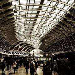 Photo taken at London Paddington Railway Station (PAD) by Muhammad A. on 4/16/2013