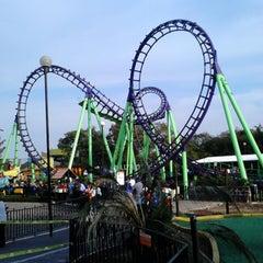 Photo taken at Six Flags México by Ese Koersitho P. on 3/1/2013
