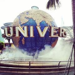Photo taken at Universal Studios Singapore by aicila on 6/4/2013