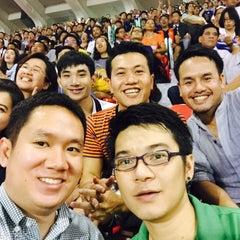 Photo taken at สนามศุภชลาศัย (Supachalasai Stadium) by Narcissus on 7/8/2015