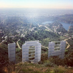 Photo taken at Hollywood Sign by Lauren R. on 3/12/2013
