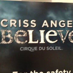 Photo taken at CRISS ANGEL Believe by Daniel M. on 5/15/2013