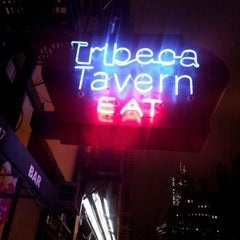 Photo taken at Tribeca Tavern by Shea R. on 1/31/2013