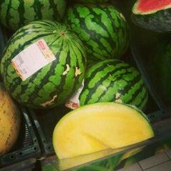 Photo taken at Rimi Hypermarket by Valeria C. on 7/19/2013