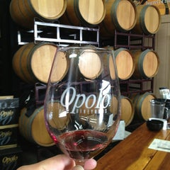 Photo taken at Opolo Vineyards by Dominic F. on 3/24/2013