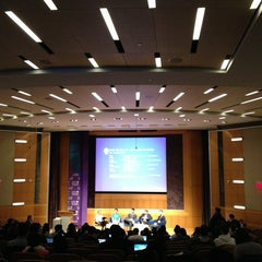 Photo taken at NYU Stern School of Business by Tania G. on 3/1/2013