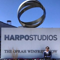 Photo taken at Harpo Studios by Frank B. on 4/25/2014