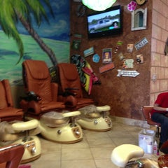 Photo taken at Paradise Nail Bar by Mayette A. on 5/27/2013