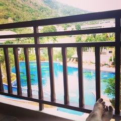 Photo taken at Alpina Phuket Nalina Resort And Spa by Angel K. on 4/22/2015