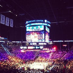 Photo taken at Barclays Center by Gautham N. on 6/23/2013