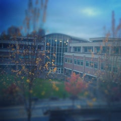 Photo taken at Douglas College (David Lam Campus) by Andrew E. on 11/2/2012