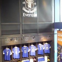 Photo taken at Everton Two Official Club Store by Emma B. on 5/19/2013