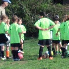 Photo taken at Stoddert Soccer @ Carter Baron Fields by Maxine T. on 5/3/2014