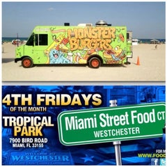 Photo taken at Tropical Park Food Trucks by MONSTER B. on 2/27/2015
