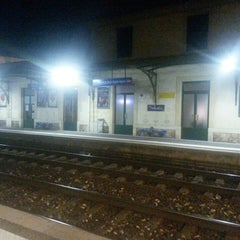 Photo taken at Gare SNCF de Beaulieu-sur-Mer by Christian on 9/5/2014