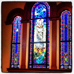 Photo taken at Mary Queen Catholic Church by Richard F. on 7/28/2013