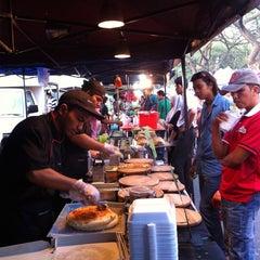 Photo taken at Pasar Malam Jalan Kuching by Khairul A. on 3/7/2013