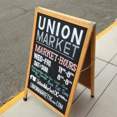 Photo taken at Union Market by André P. on 7/24/2013