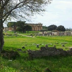 Photo taken at Area Archeologica di Paestum by Maria Irene D. on 4/1/2013