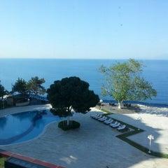Photo taken at Antalya Hotel by Murat Ö. on 4/23/2013