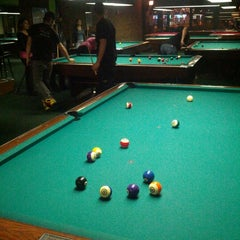 Photo taken at Chicago Billiards Cafe by Nick D. on 10/17/2012