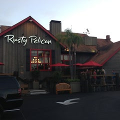 Photo taken at The Rusty Pelican by Gu F. on 6/29/2013