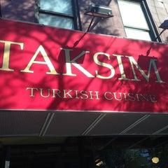 Photo taken at Taksim Restaurant by Sude E. on 7/17/2013