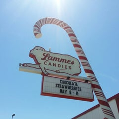 Photo taken at Lammes Candies by Leandra C. on 5/7/2013